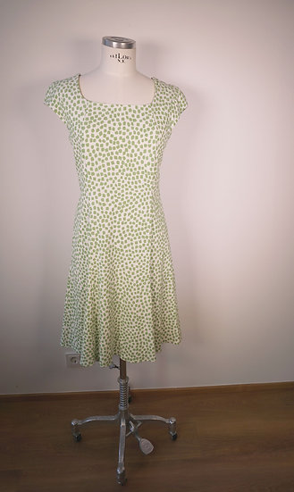 Fox Kleid Tupfen grün