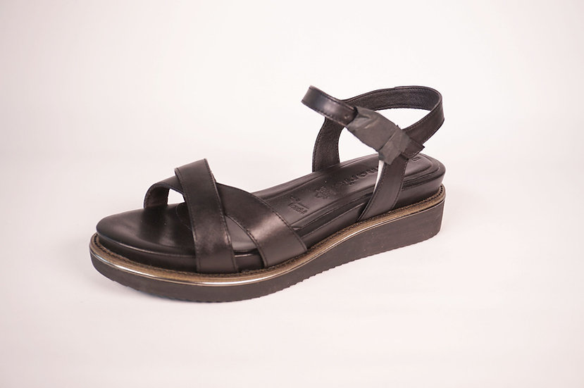Tamaris Sandale, schwarz