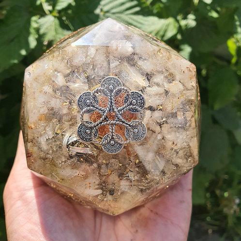 DIAMOND ORGONE  Quartz  & Aragonite