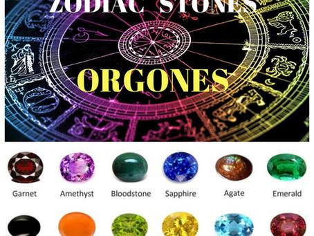 ZODIAC Stones Orgone Energy