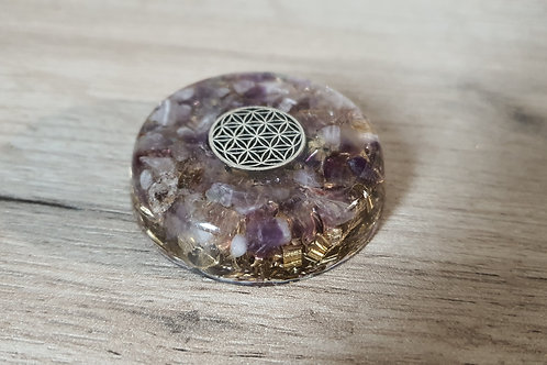 Flower of Life Pocket Orgone SOLD