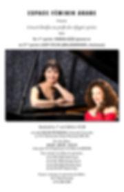 Sylva Balassanian, concert au profit des réfugiés Syriens à la Salle Oscar Peterson de l'Université Concorida de Montréal le 1er avril 2016 dès 19h30