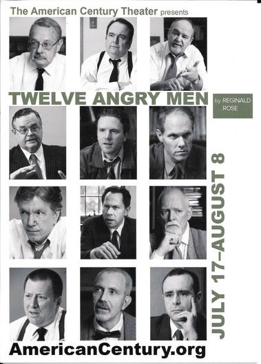 Michael Replogle as Juror #3 in Twelve Angry Men