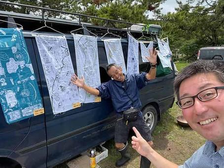 【応援の声】天空の旅人・多胡さんが今年も青森県に来た〜!(K.Sさん)2021.7/11