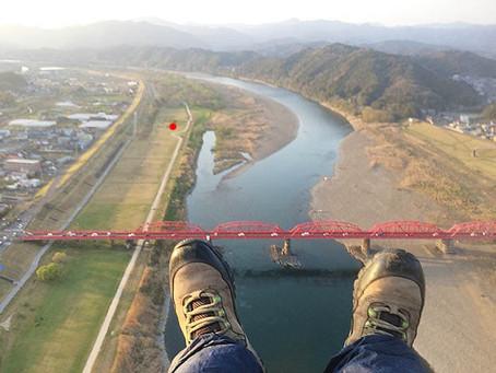 【四万十川】中村赤鉄橋にはいりました