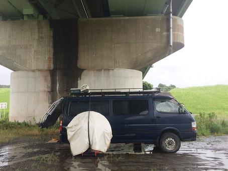 【空の旅・四万十川】橋の下で沈殿