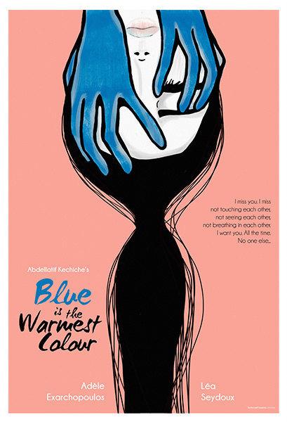 Blue Is The Warmest Colour Film İllüstrasyonu