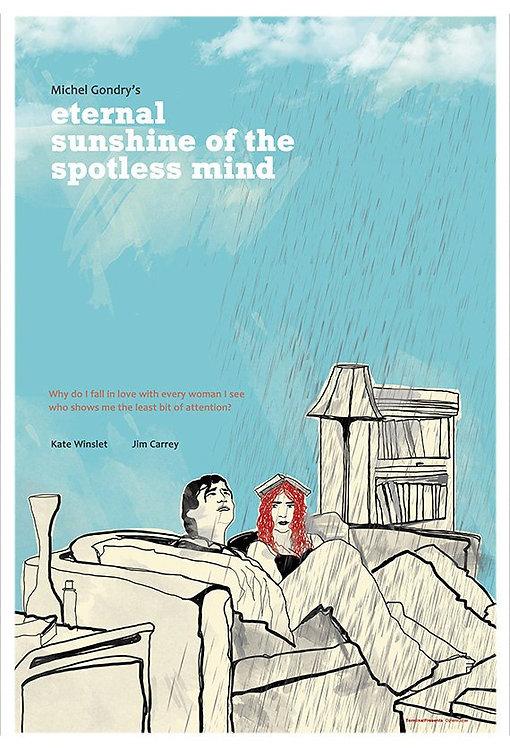 Eternal Sunshine of the Spotless Mind Film İllüstrasyonu