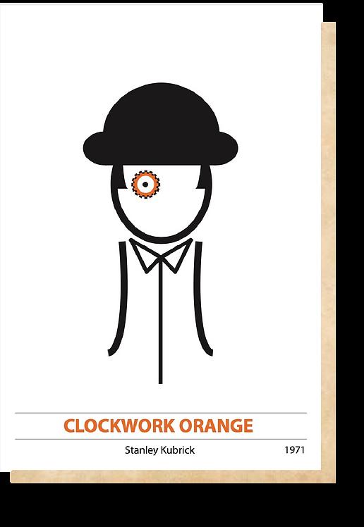 Clockwork Orange Film İllüstrasyonu