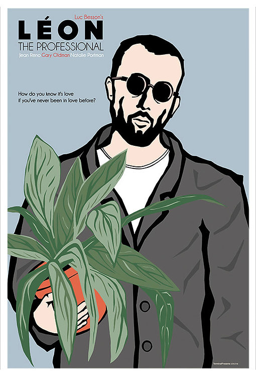 Leon Movie Leon İllüstrasyonu