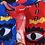 Thumbnail: Eye Browse Kimono Kırmızı