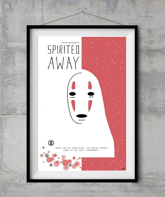 Spirited Away Film İllüstrasyonu