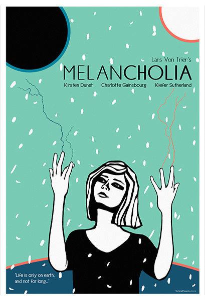 Melancholia Film İllüstrasyonu