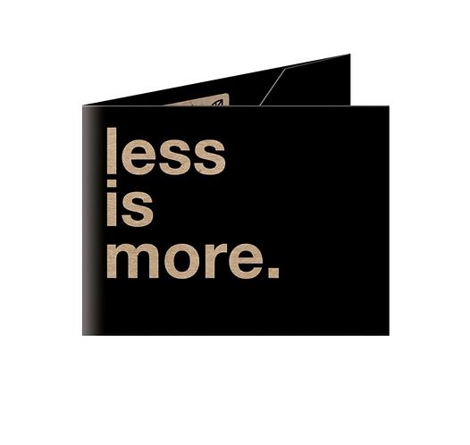 Less is More Cüzdan