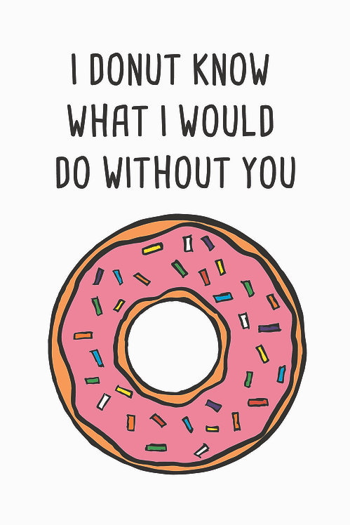 'What I Would Do Without You' Tebrik kartı