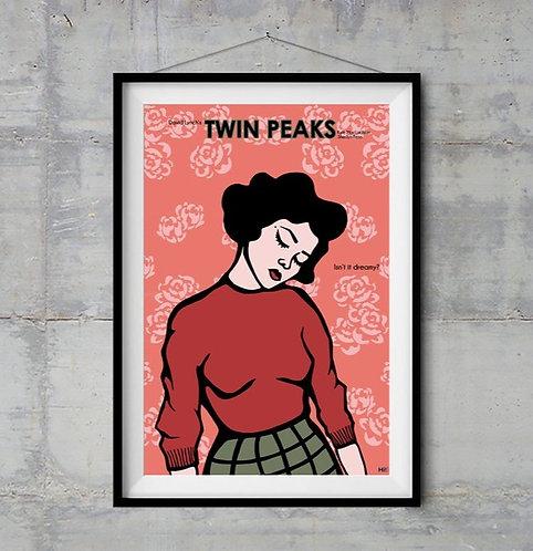 Twin Peaks Audrey Horney İllüstrasyonu
