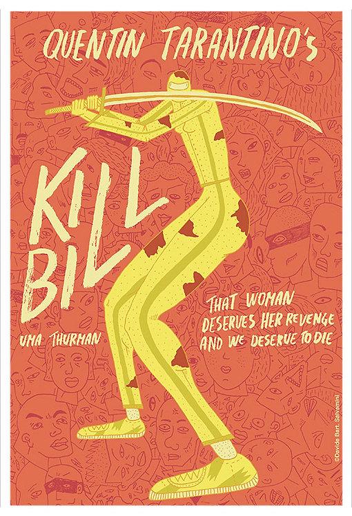 Kill Bill Film İllüstrasyonu