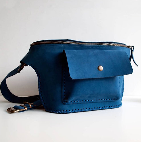 Free Bag Bel Çantası-Mavi