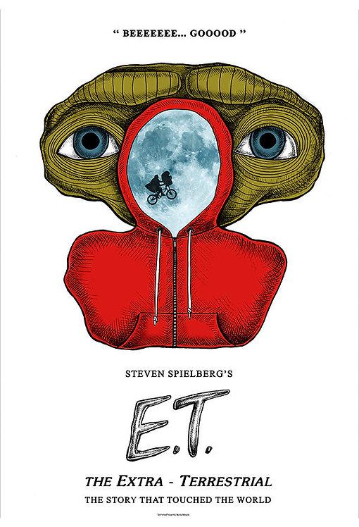 E.T. Film İllüstrasyonu