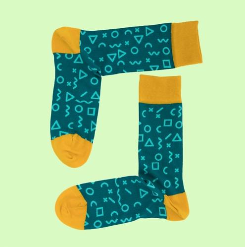 Fragments Green Çorap