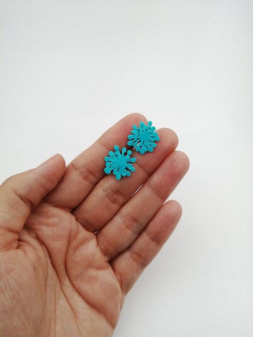 Dandelion Küpe-Mavi