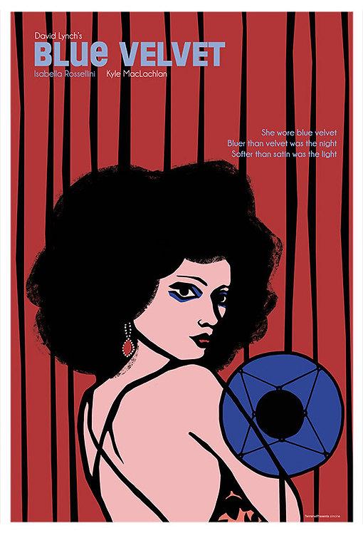 Blue Velvet Film İllüstrasyonu