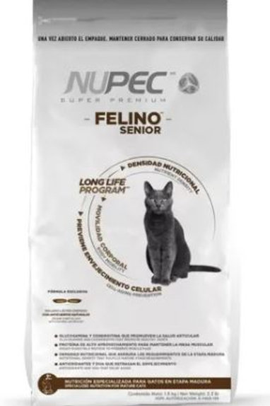 NUPEC FELINO SENIOR - 1.5 / 3 KG