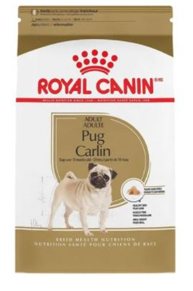 ROYAL CANIN ADULT PUG CARLIN - 1.13 / 4.54 KG