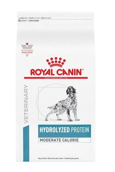 Royal Canin Hydrolyzed Protein Moderate Calorie - 3.5kg / 11kg