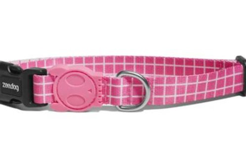 ZEE.DOG PINK WAVE COLLAR - S / L