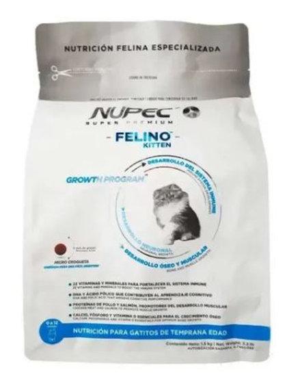 NUPEC FELINO KITTEN - 1.5 / 3 KG