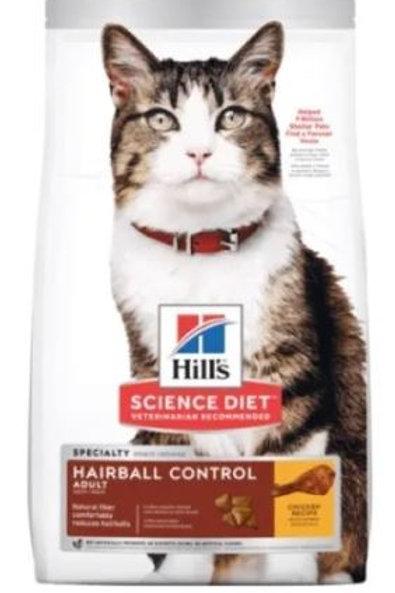 HILLS FELINE ADULT HAIRBALL CONTROL - 1.6 / 3.2 / 7 KG