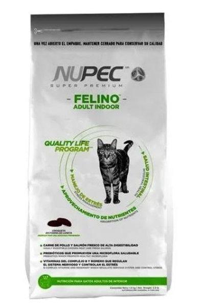 NUPEC FELINO ADULT INDOOR - 1.5 / 3 KG