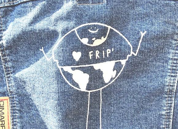 Veste jeans planète