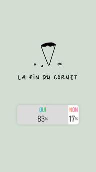 end of cornetto
