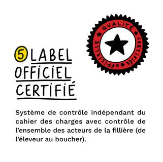 label officiel certifié