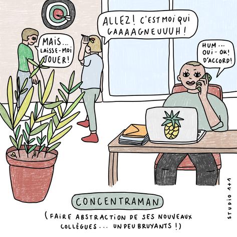 concentraman