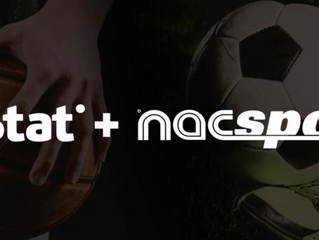 NacsportとInStatがパートナーシップ契約を結ぶ
