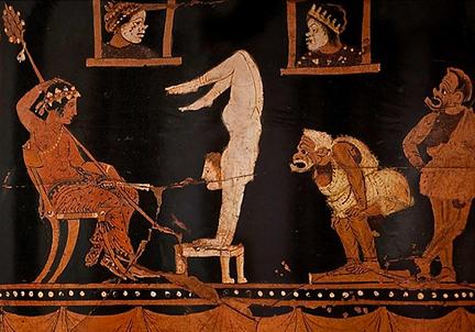 Scene teatrali e rappresentazioni vascol