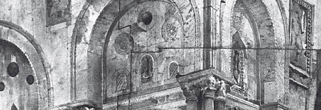 Le pietre di Venezia: spolia in se, spol