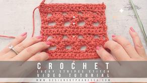 Crochet Lucky Stripes Stitch Pattern and Tutorial