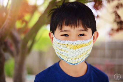 Crochet Face Mask (Lined)