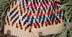Crochet & Knit Elmas Slouch Beanie Pattern Release