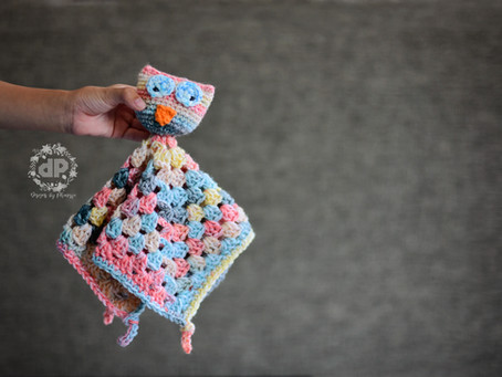 Owl Lovey Blanket Crochet Along (CAL)