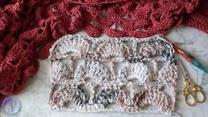 Crochet Offset Shell Columns Pattern & Video Tutorial