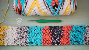 Easy Crochet Textured Headband