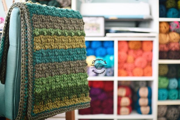 Little Bobbles Baby Blanket Pattern Tutorial