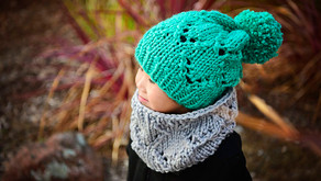 Knit Ashlee Slouch Cowl Pattern (updated!)
