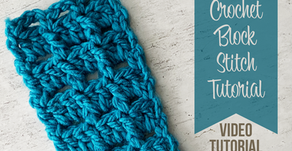 Crochet Block Stitch Tutorial