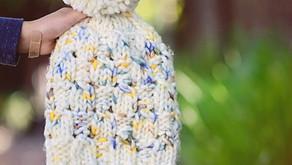 Knit Austen Slouch Beanie Pattern Release